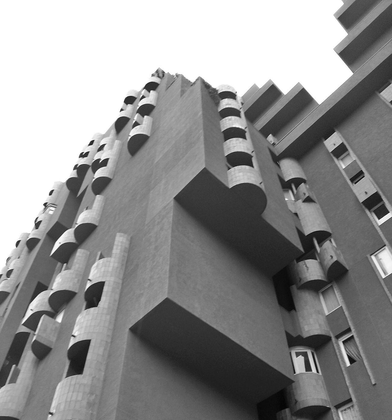 Architecture Blackandwhite Tetris Eye4photography  Mi Serie Barcelona
