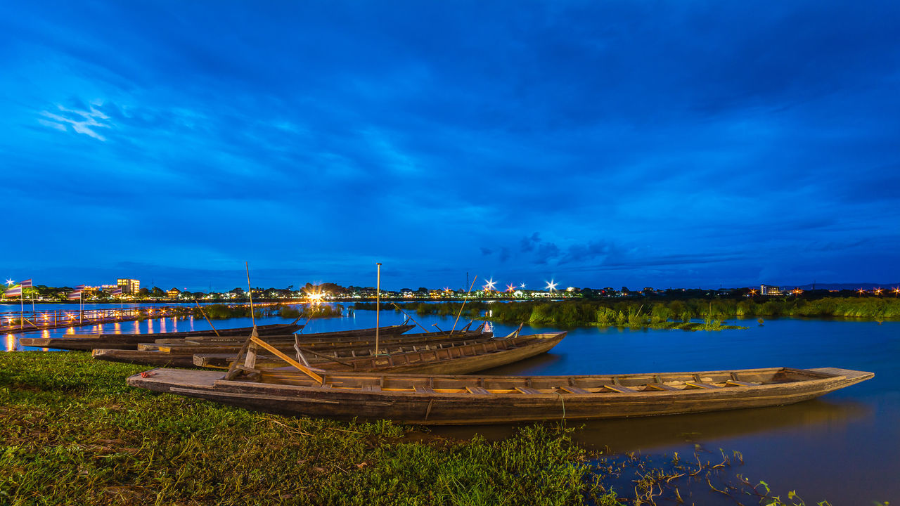 PHAYAO, THAILAND - JULY 19, 2016: The bamboo bridge, The bamboo bridge of Wat Ti Lok Aram temple in kwan phayao off freshwater lake of Thailand. Day is the important Buddhist. ASIA Bamboo Bridge Beauty In Nature Blue Buddhist Built Structure Cloud Cloud - Sky Day Idyllic Important Kwan Phayao Nature No People Outdoors Scenics Sky Temple Thailand Tourism Tranquil Scene Tranquility Travel Destinations Wat Ti Lok Aram Water