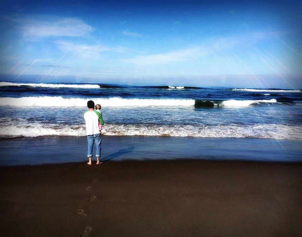 What Makes You Strong? Pacific Ocean Pacific Northwest  My Heart And Soul, my boyfriend and daughter.