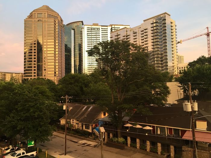 Iphoneonly Iphone 6 IPhoneography Atlanta Sunset Midtown Atlanta Nofilter