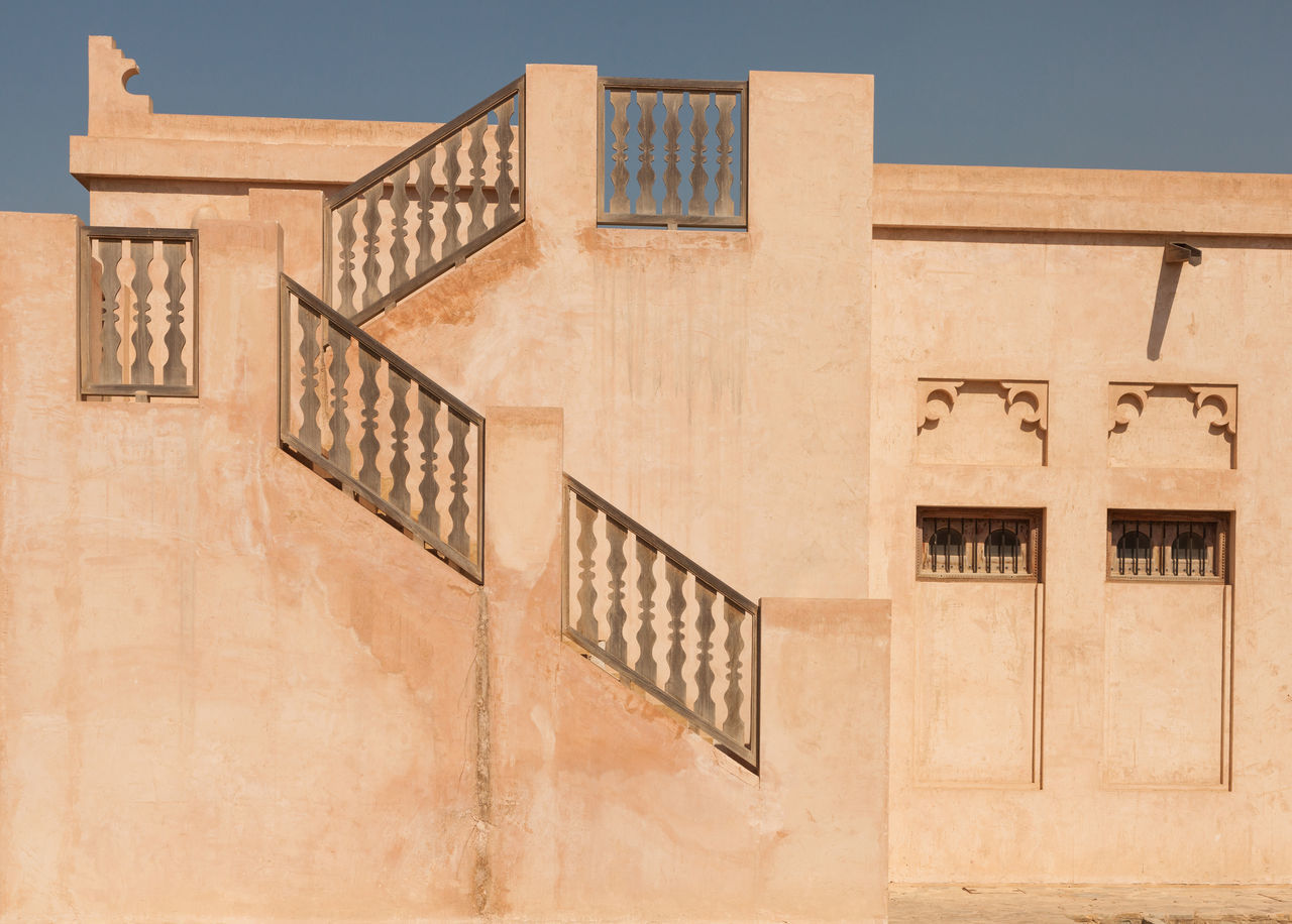 Ara Arabic Architecture Architecture Building Exterior Built Structure Day No People Old Architecture Outdoors Residential Building Sky