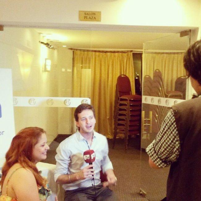 Entrevista 5tv Nota Cincoestrellas television
