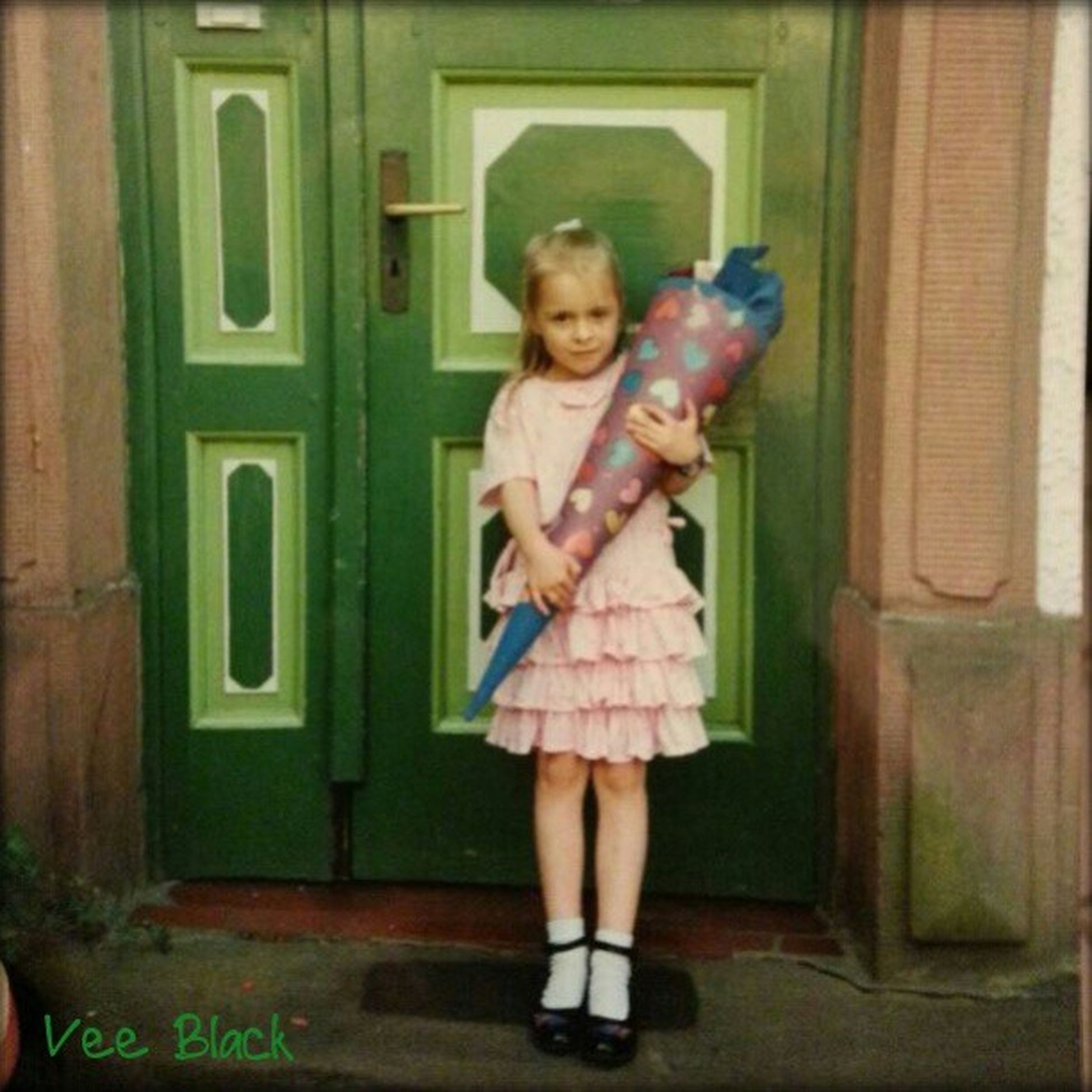 This was me on my first day of school ^^ LittleVee
