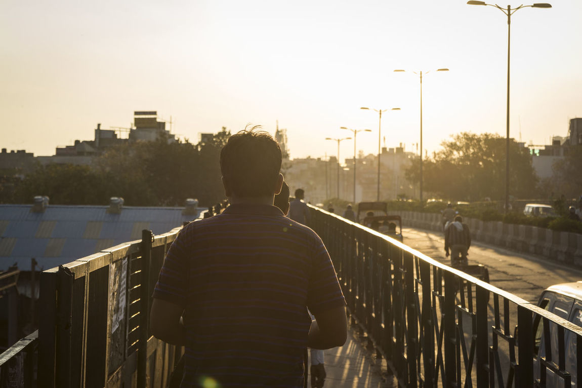 people walk on sidewalk in golden sunlight Candid Photography City City Life Indianstories Leisure Activity Lifestyles Outdoors Snap Photo Snap Shot Street Photography The Way Forward