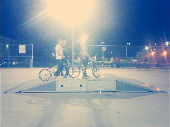 BMX is running the park at the moment. Some chill sessions tonight.. Bmx