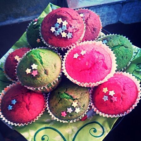 Cake♥ Muffins Colorfood