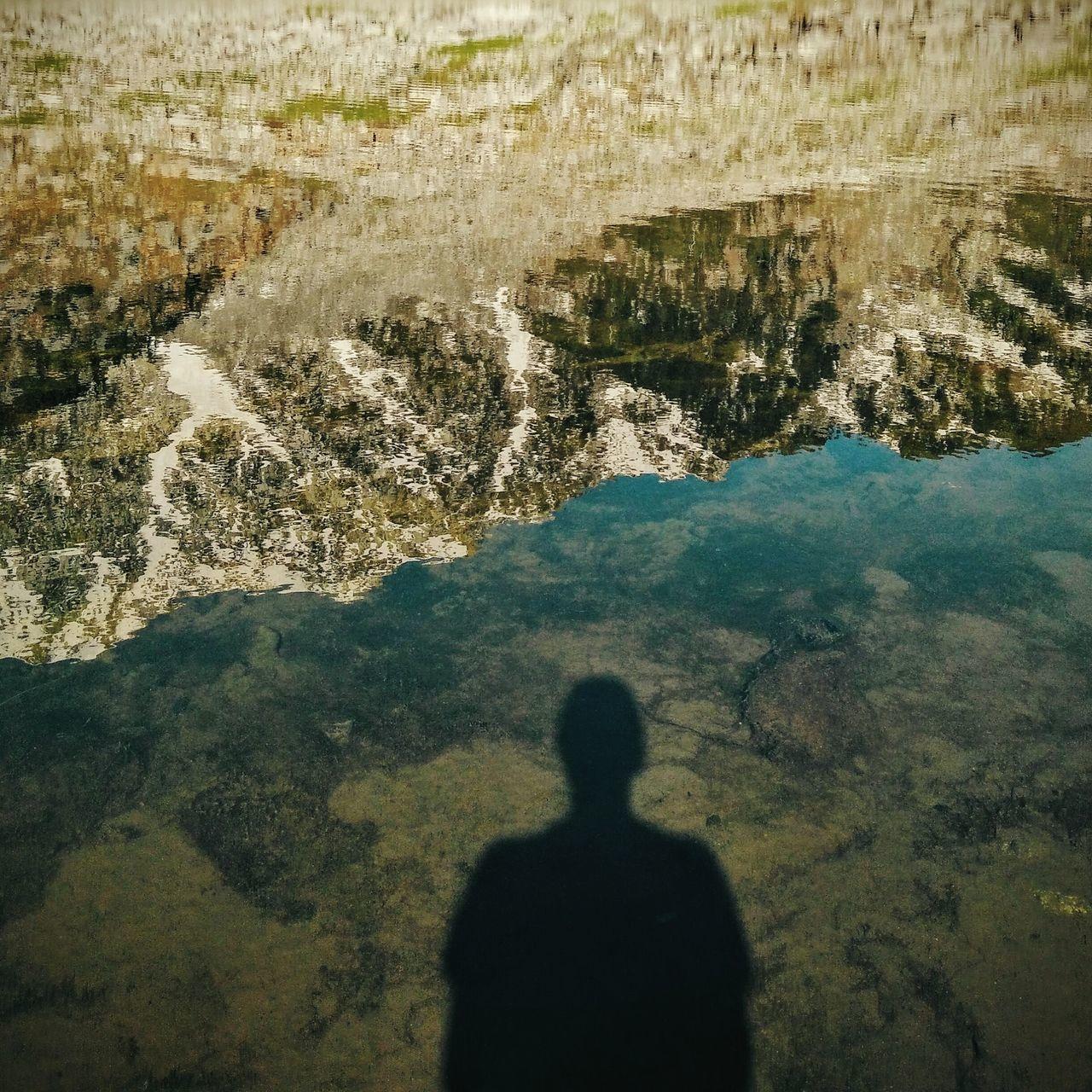 Kareri Lake Himalayas Lake Reflection Shadow Solitude Mountains Snowcapped Mountain Outdoors Water Lake Standing Water