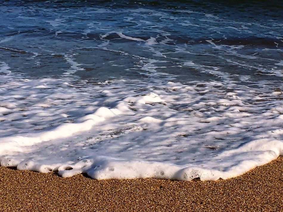 Sable Vague Blue Ecume Nature Water Beauty In Nature Sea Beach Mer Mediterranée Eau Plage Mer Mediterranean  Bord De Mer