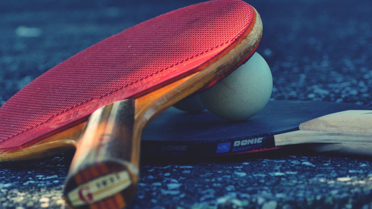 Ping Pong Pingpong Tabletennis PingPongTime.. Pingpong-Racket Pingpong Ball Summergames Family Time
