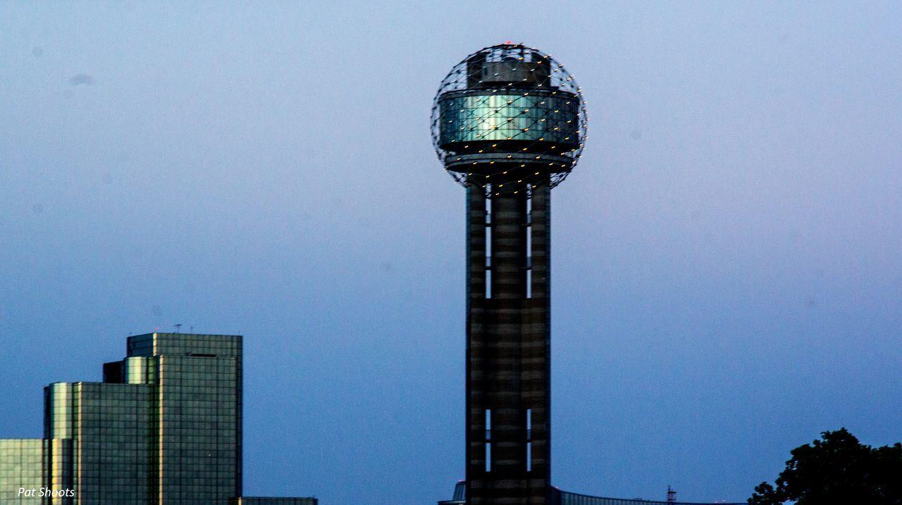 Dallas <3  Reunion Tower Dallasskyline