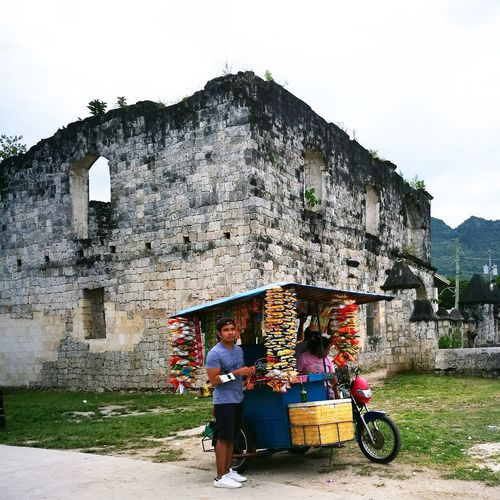 Ruins Food Tricycle Outdoors P9photography Let's Go. Together.