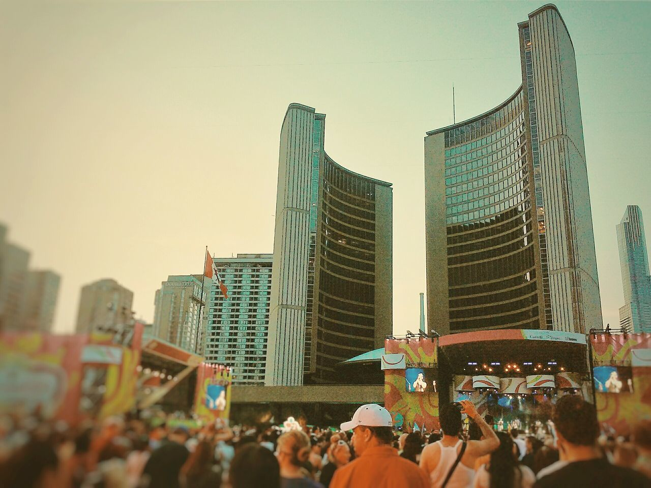 Blur Backgrounddefocus Nathanphillipssquare Toronto Canada Ontario, Canada Celebration PanAmGames City Hall Things I Like Crowd Concert Square Up Close Street Photography The Street Photographer - 2016 EyeEm Awards The Following The Essence Of Summer Colour Of Life Finding New Frontiers The City Light