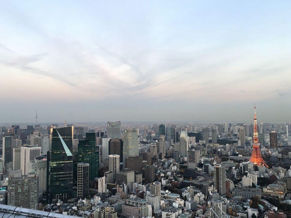 Japan Tower Tokyo Tokyo Tower Tokyo Sky Tree Roppongi Roppongihills Skyviewers Building Sky Big City Rooftop