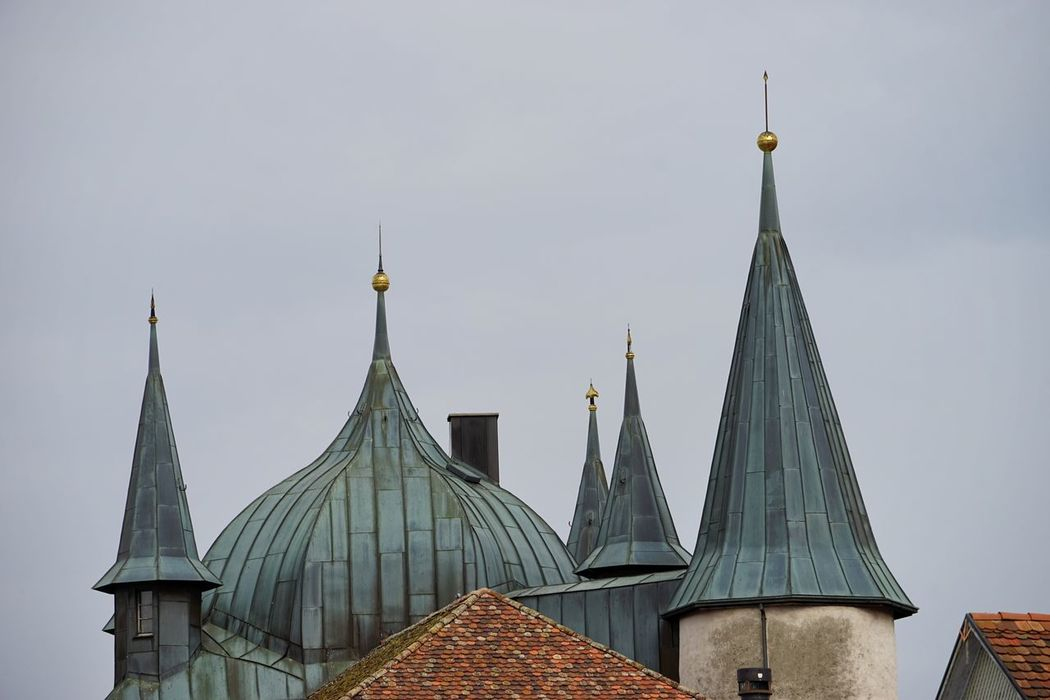 Architectural Feature Architecture Building Exterior Castle Rooftops Steckborn Steeple Tower