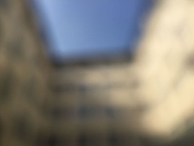 Abstract Background Blue Blue Sky Building Exterior Close-up Full Frame Hinterhof No People