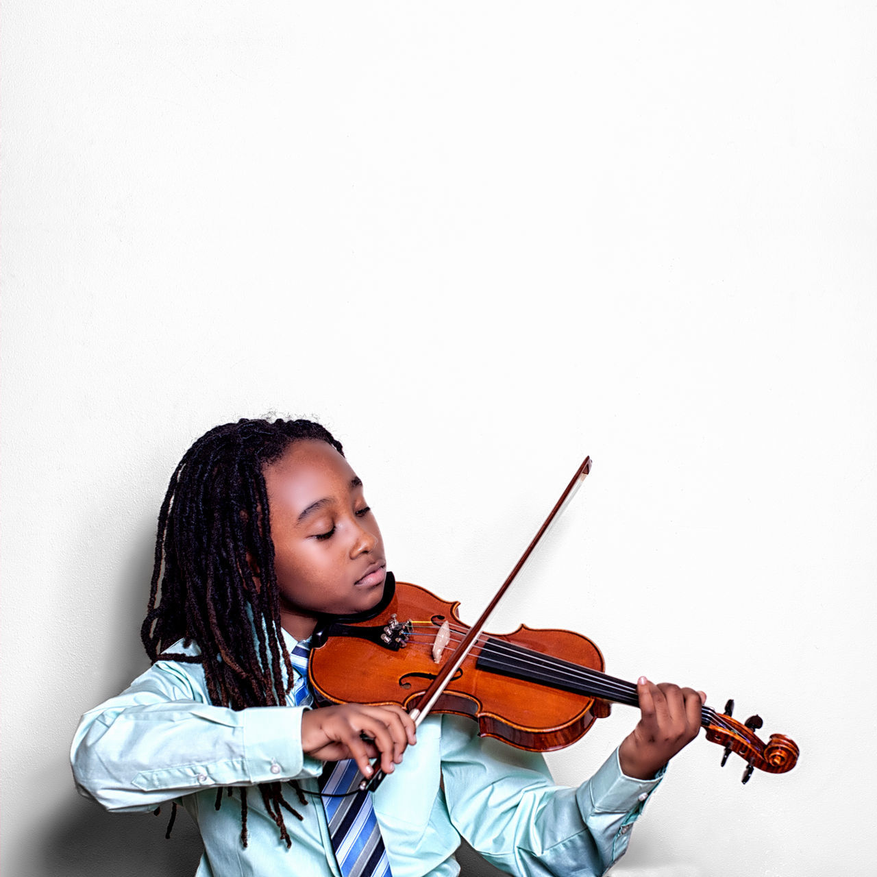My son and his violin Violin Music Child