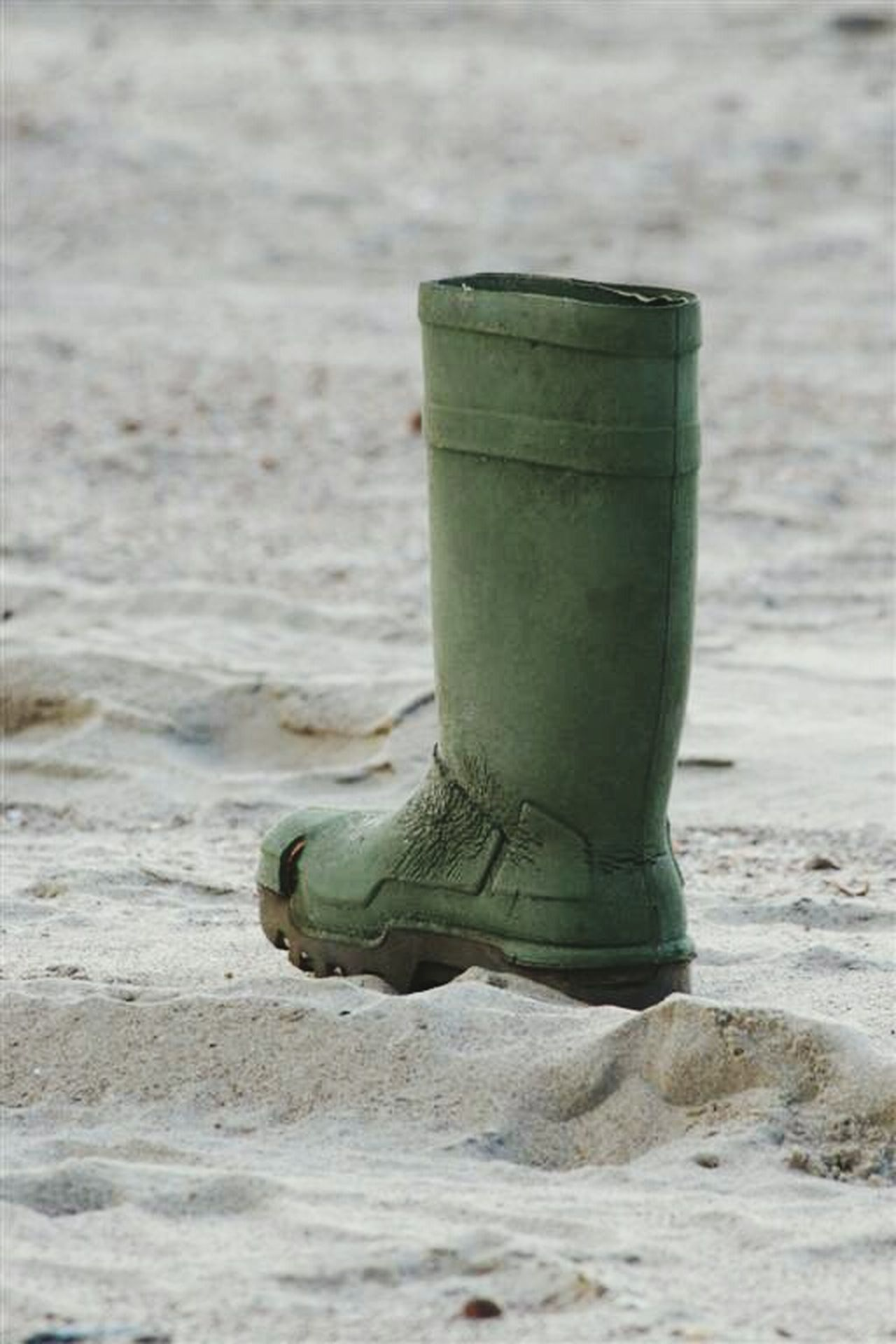 Selective Focus Water Outdoors Boot Beachphotography Lonelyness Lonely Objects Mystery Photo