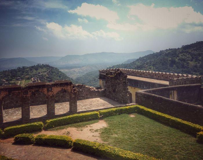 Landscape Fort Ruins Kumbhalgarh Perspectives On Nature EyeEmNewHere