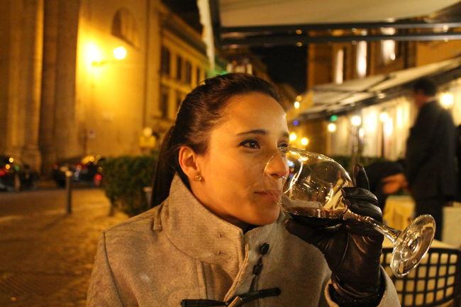 The Tourist The Purist (no Edit, No Filter) Rome Italy Piazza Del Popolo Via Di Rippeta Wine Winter Happiness Traveling Travel Drinking Wine Rossati Showcase: February The Portraitist - 2016 EyeEm Awards The Portraitist - The 2016 EyeEm Awards