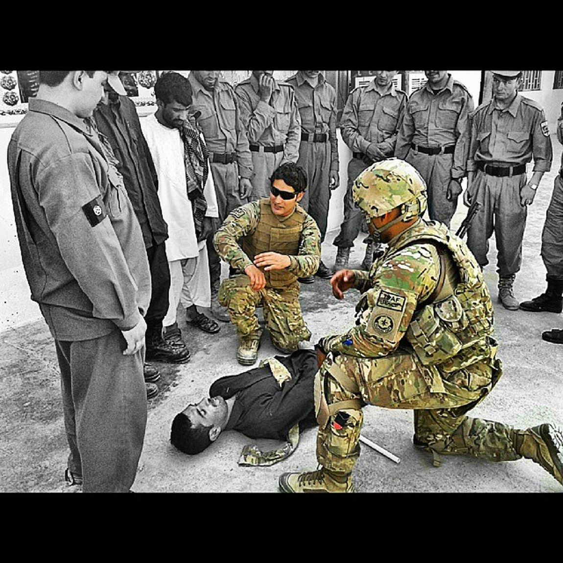 Training Afghans Firstaid Afghanpolice Kandahar city BGR bnw_society b_ig instagramers igers instafollow tagsforlikes tagstagramers tagsta tumblr tweegram thebesteditor thebest_ofbest photowall_bw photowall_daily pixlar photogram_tr photorchestra peoplewatching