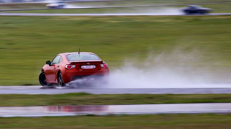 The Drive Drifting Car Water Grass Speed Driving Sport Motorsport On The Move Transportation HachiRoku Japanese Car Toyota Gt86 GT86 Toyota Trackday Holiday On Ice My Year My View