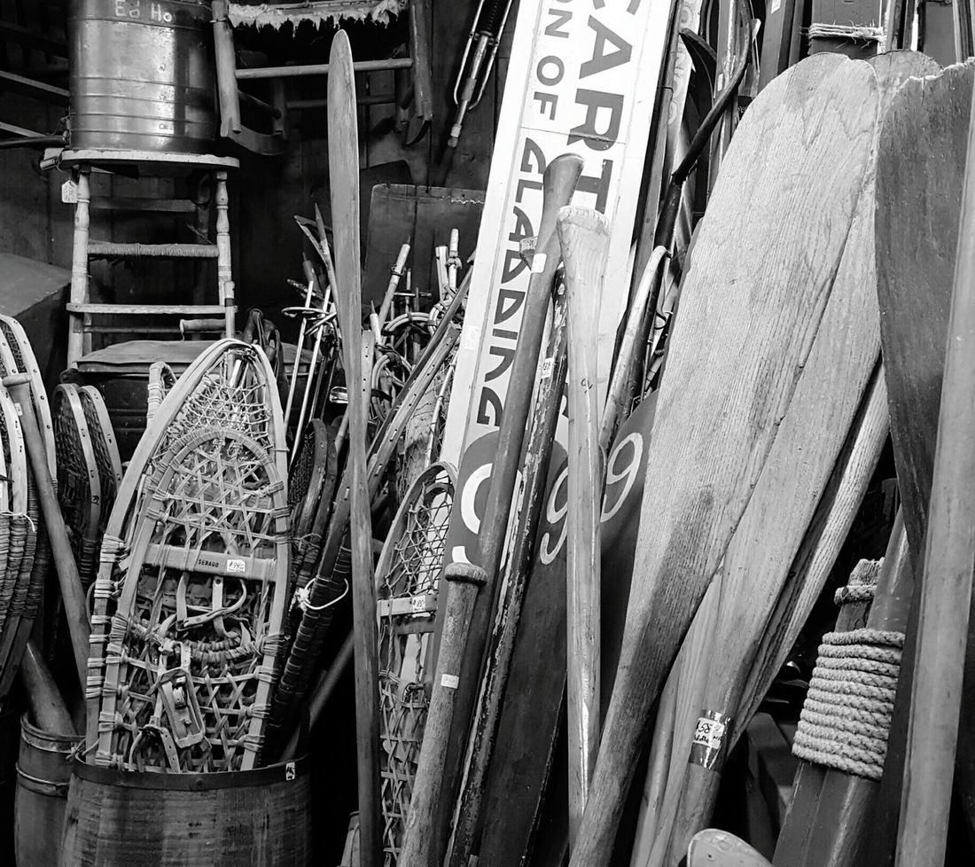 Ready for all seasons. One Man's Trash... S6 Curiosity Shop Antiques Bnw Black & White B&w Edit EyeEm Best Shots - Black + WhiteEyeEm Gallery Eyeemphotography EyeEm EyeEm Best Shots Essex, Massachusetts