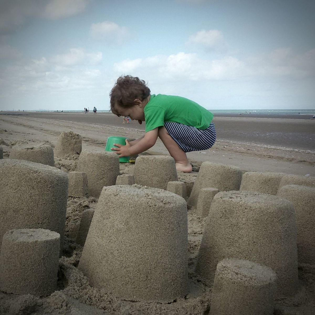 Beach Building Castles In The Sand Kids Photography Kids Playing At The Beach Summertime Summer Holidays My Boy People