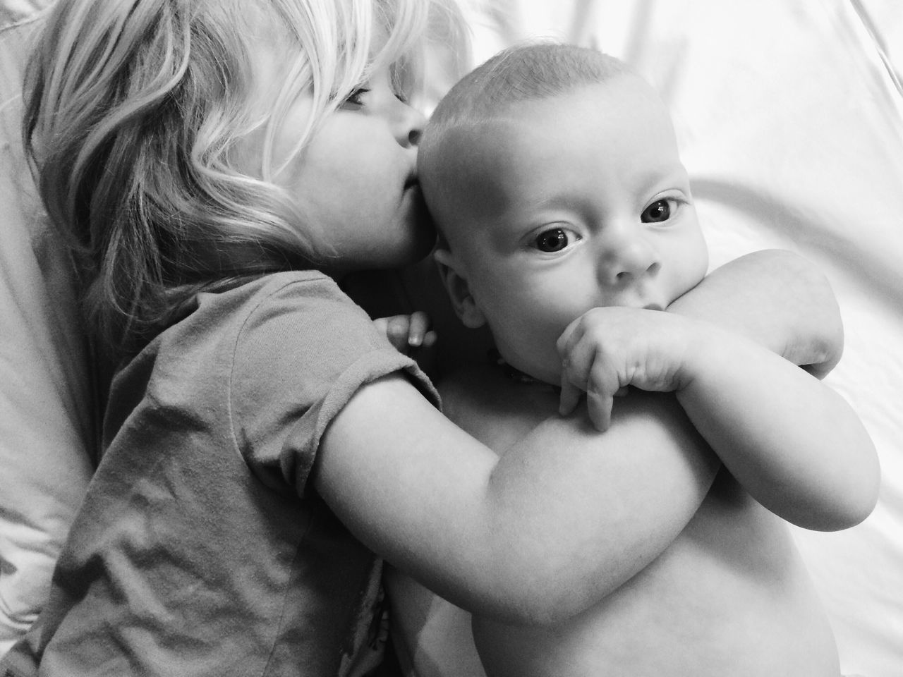 Beautiful stock photos of kuss,  2-3 Years,  2-5 Months,  Baby,  Baby Boys