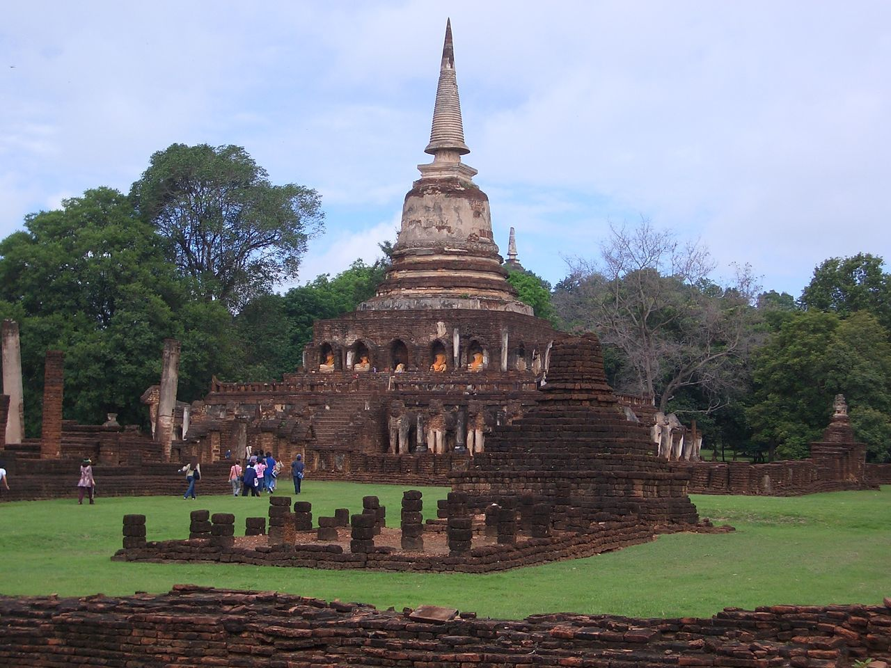 Wat Chang Lom Built Structure History Pagoda Place Of Worship Religion Sukhothaihistoricalpark Travel Travel Destinations BUDDHISM IS LOVE