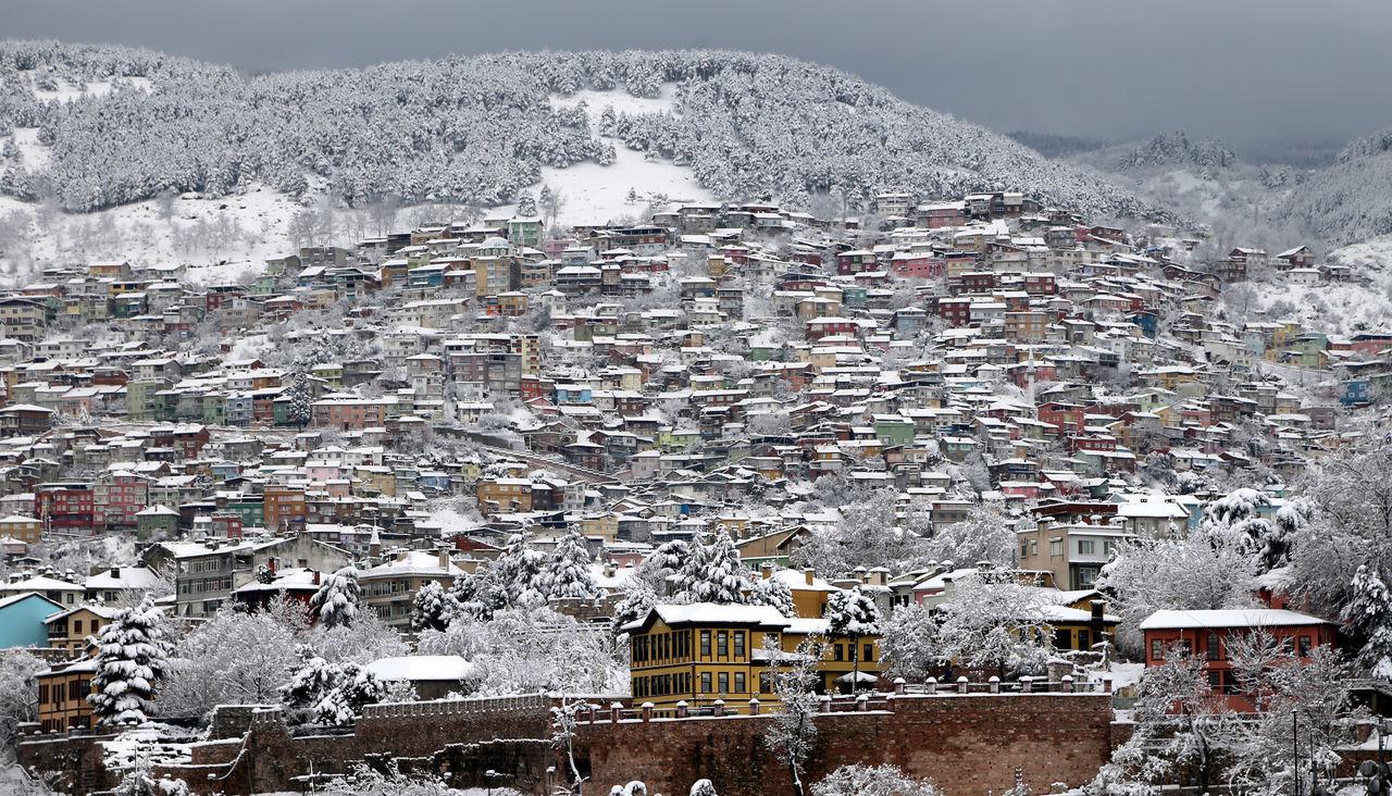 Winter and residency Bursa City Mansion House Mountain Residency Sümbüllü Bahçe Konağı Travel Destinations Turkey Winter