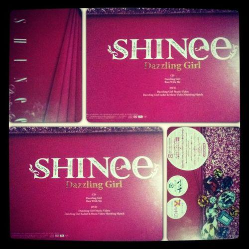 Finally!! Got this album!! ^^ Happy Shinee Album Dazzlinggirl japan single InstaFrame instadaily
