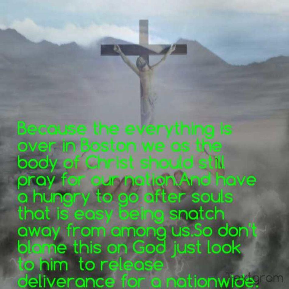 Believing God For #Deliverance For The Nationwide