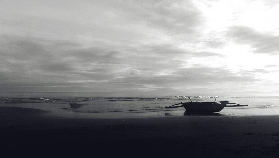 Black & White Sea Water Beach No People Beauty In Nature First Eyeem Photo