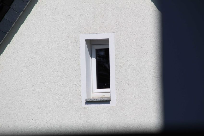 Close-up Architecture Window Building Exterior Built Structure White Color Outdoors Day Whitewashed Low Angle View No People The Graphic City
