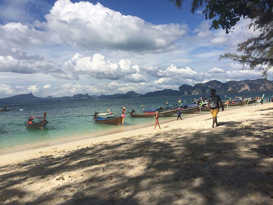 Krabi Thailand   Vacation   Releasetension   Takeadeepbreath Feelthefreshnessoflife    Sky   Beach   Shadow First Eyeem Photo