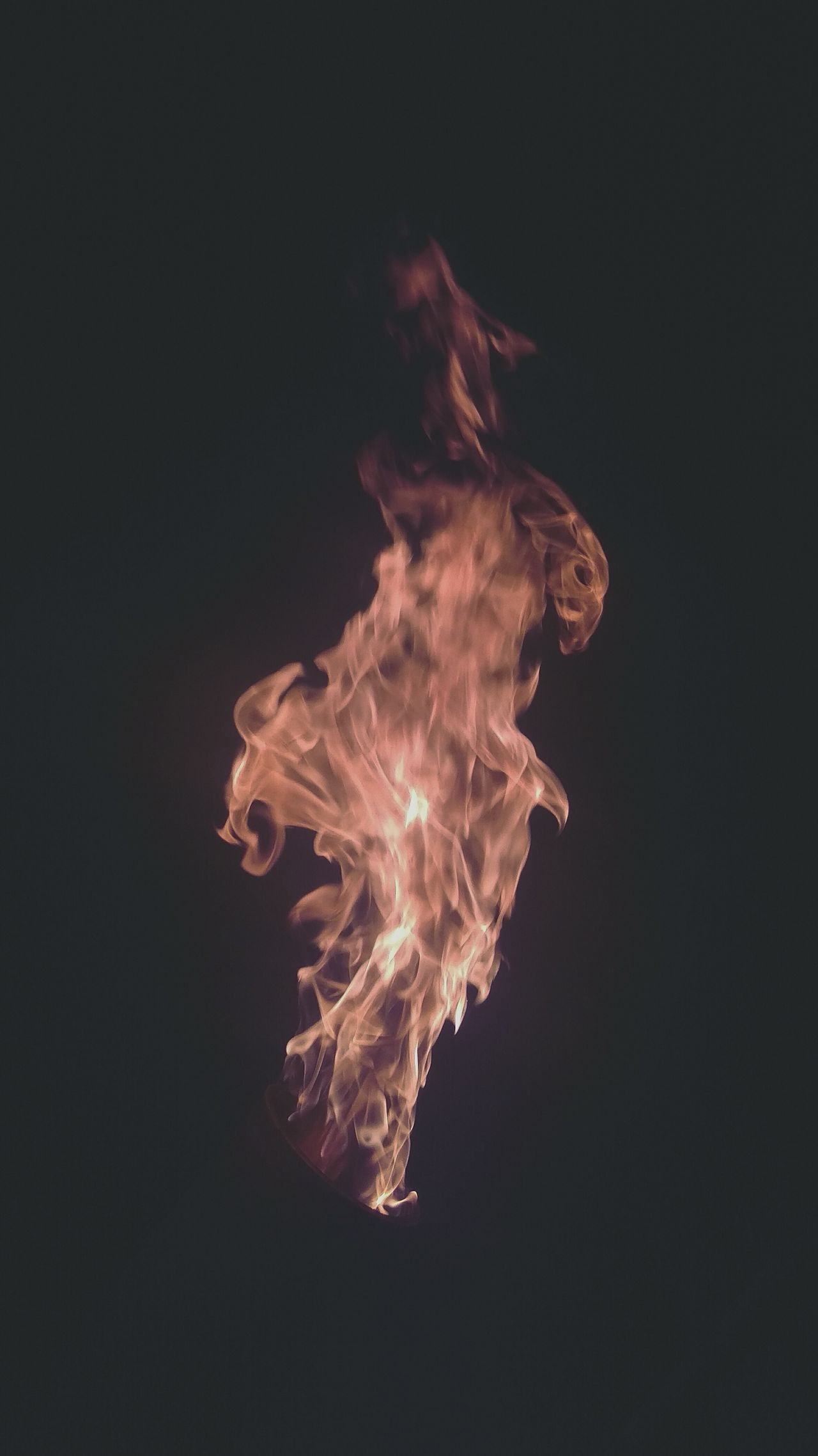 Taking Photos Face Abstract Fire Pyro