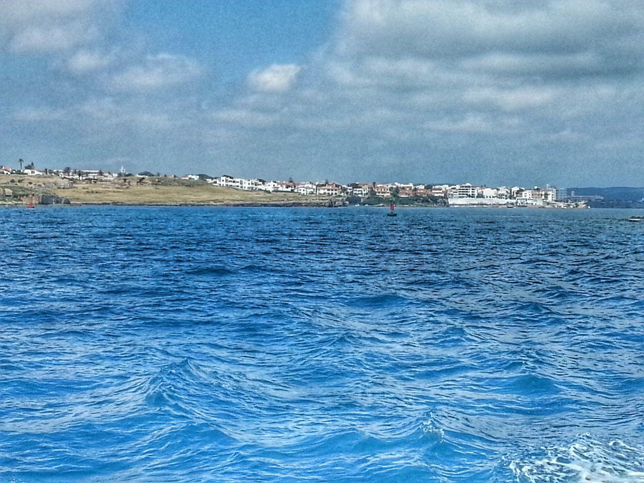 Blue Sky Landscape Seascape Seascape Photography Sea And Sky Seascape Waves Sky And Clouds Clouds And Sky Waves Mahón Mao Menorca Blue Sea Wanderlust Blue Wave