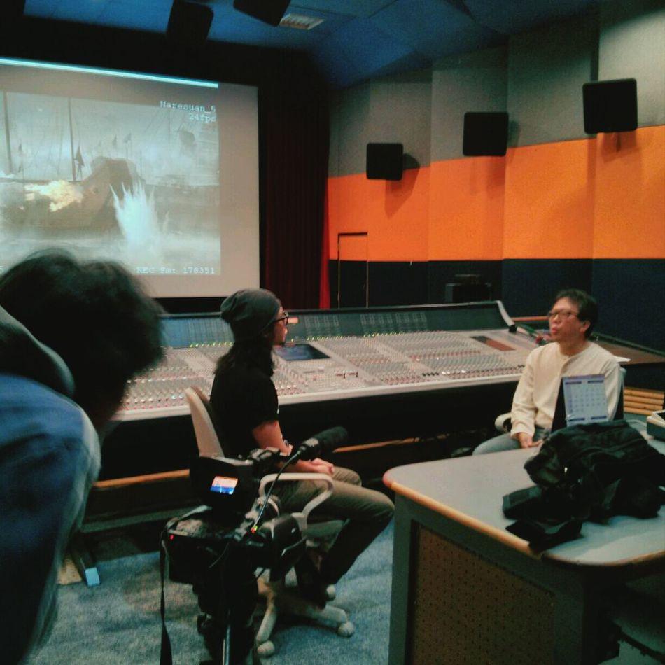 รายการ:กบนอกกะลา (กำลังถ่ายเจ้านาย) Recording Studio Sounds Movies Mixing Sound