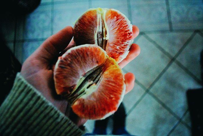 Arancia rossa. Arancia Inverno Relaxing