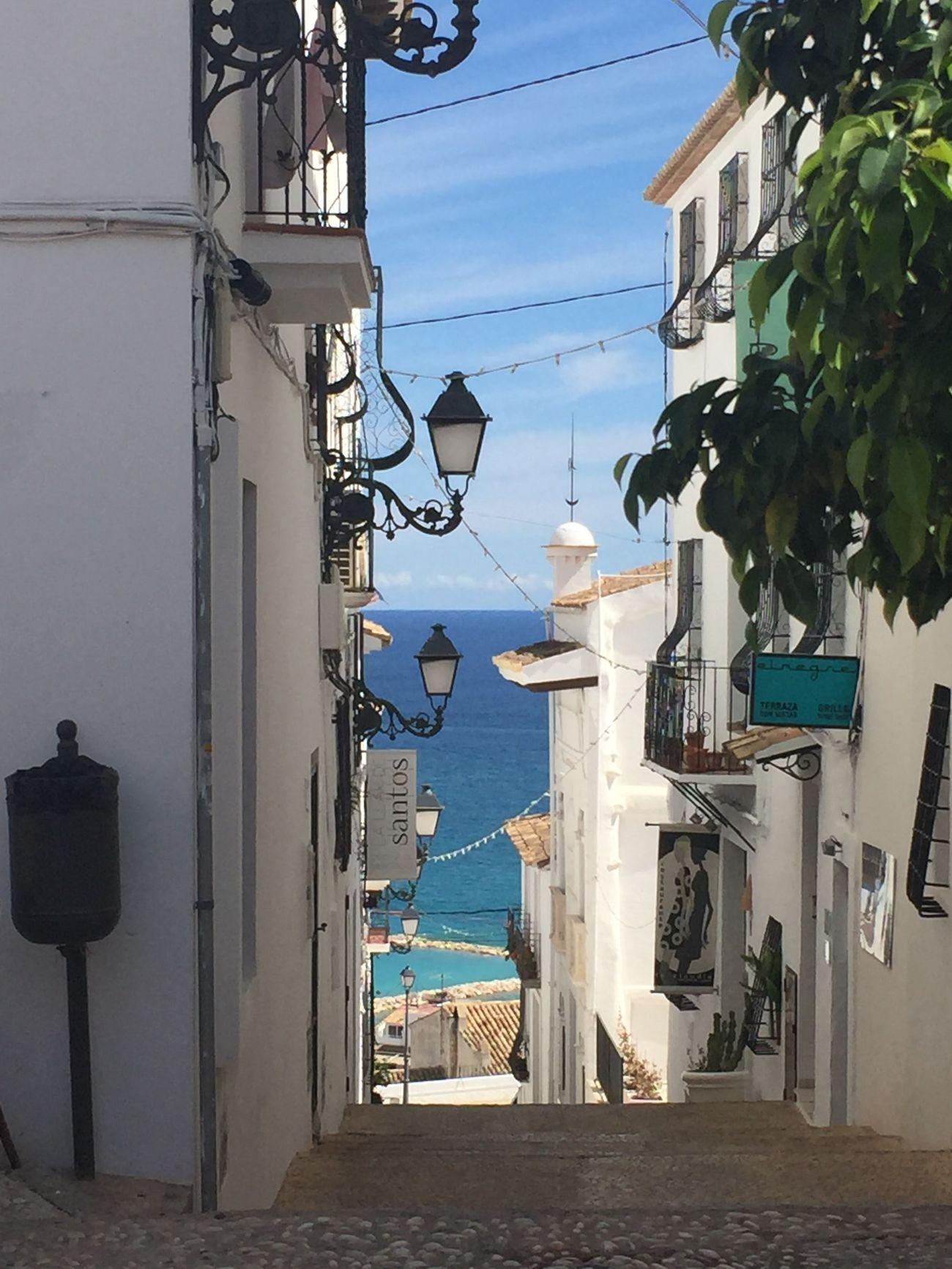 SPAIN Romantic Place Altea Comunidad Valenciana Mediterranean  Pueblos De España Architecture Outdoors No People