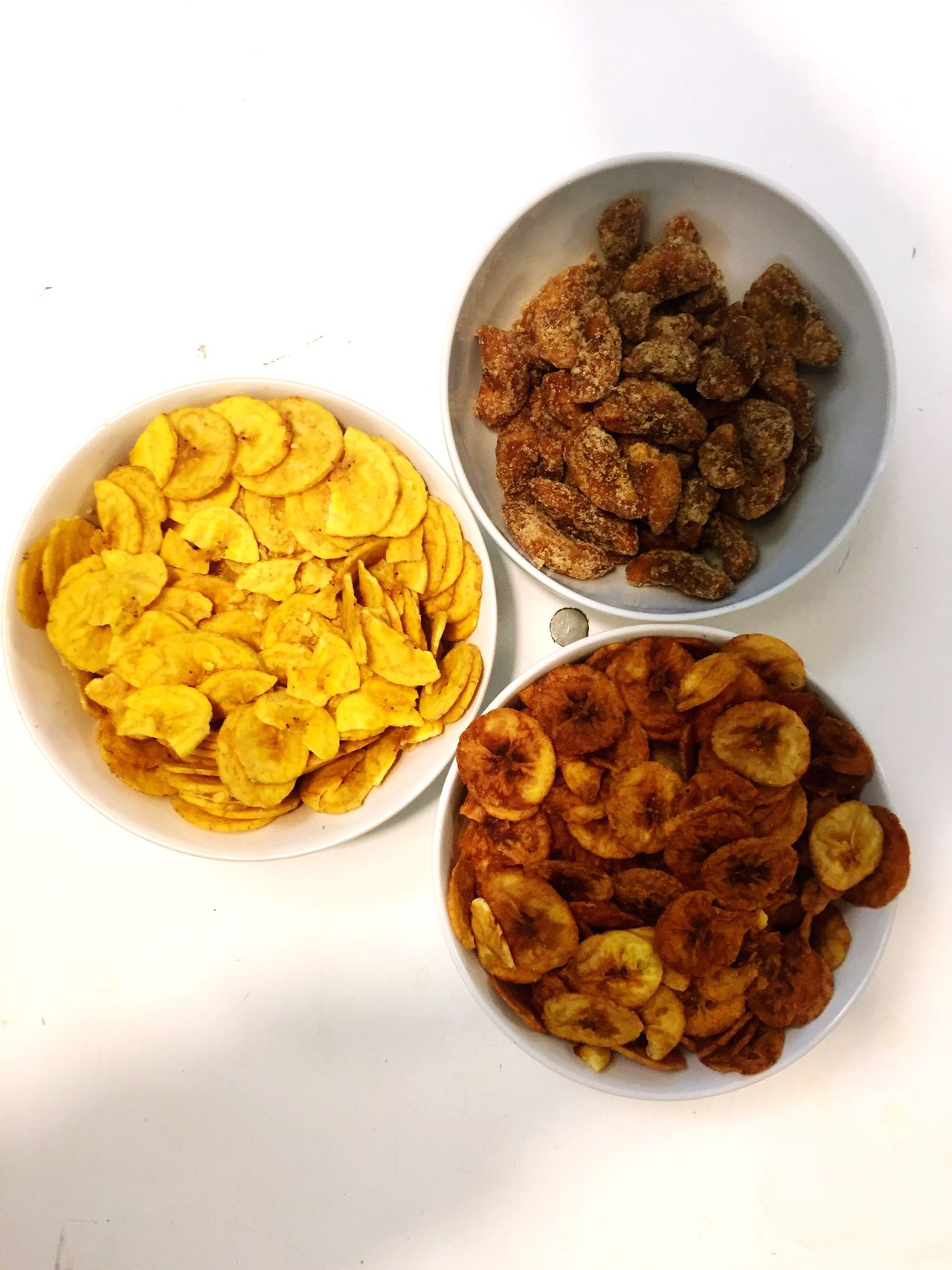 White Background Variation Food And Drink Directly Above Freshness No People Food Ready-to-eat Banana Chips Kerala Variety