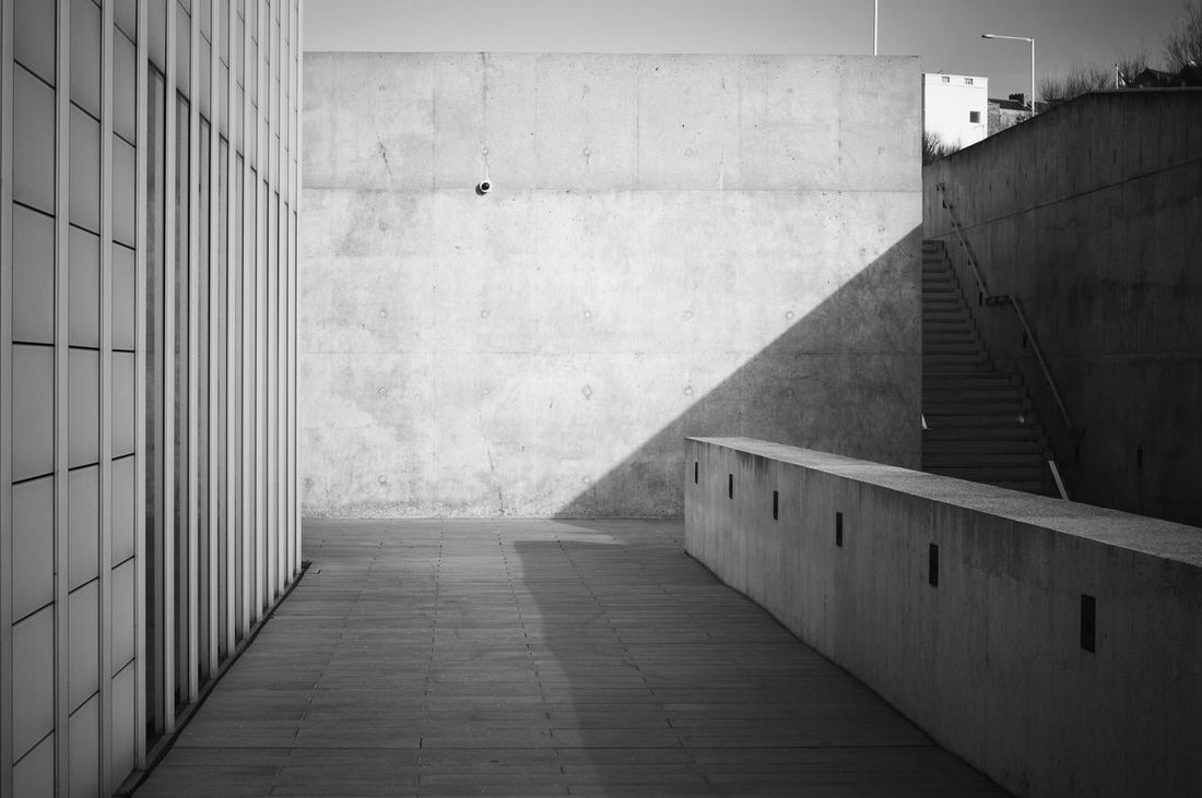 Architecture Built Structure No People Outdoors February Black & White Blackandwhite Photography Blackandwhite Turner Contemporary Margate Seaside Art Gallery Shadow Shadows & Lights Concrete Architecture_collection Architecturelovers Kent