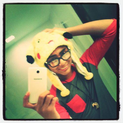 Me and my bud pikachu