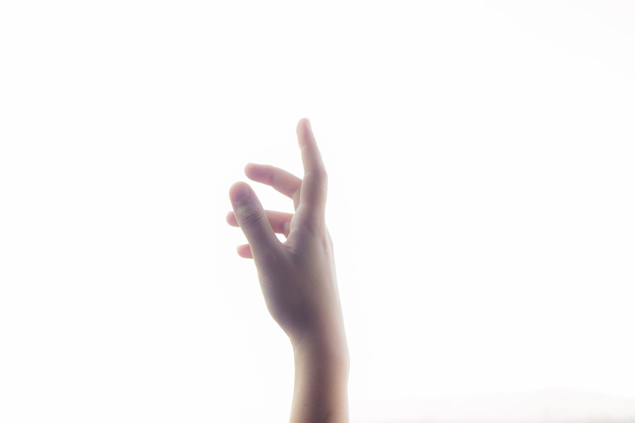 Close-up Day Gesturing Human Body Part Human Hand One Person Outdoors People Real People White Background