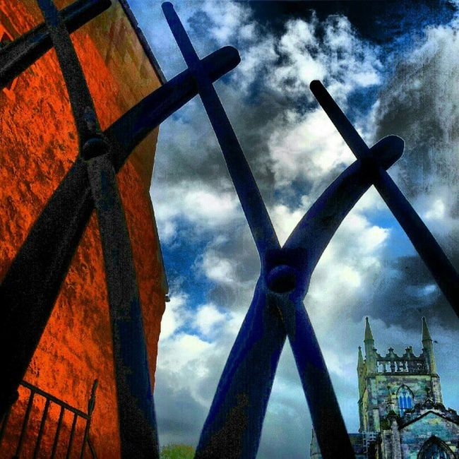 'Kriss Cross' Wroughtiron Gates Architectureporn Dunfermline abbotshouse Scotland Abbey Cloudporn sky skyporn skyback sky_collection igscotland igtube Igers igdaily Tagstagram most_deserving thebestshooter iphonesia photooftheday insta_shutter Instagood instamood instagrammers picoftheday insta_pick webstagram