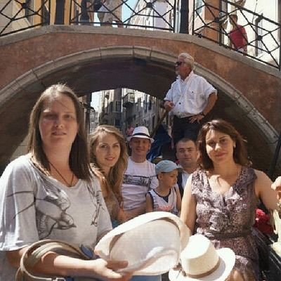 Venice Italy My Friends And I Turism