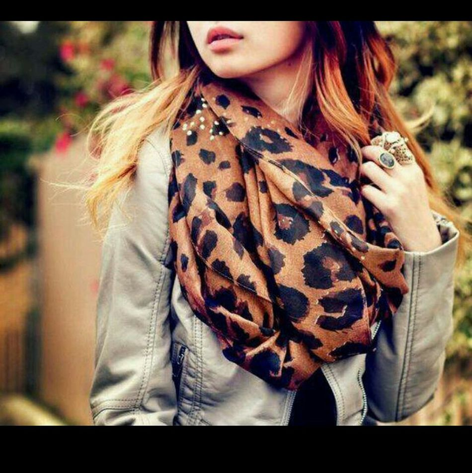 A Must Have For Fall #cheetahscarf