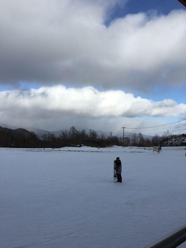 スキー場 冬