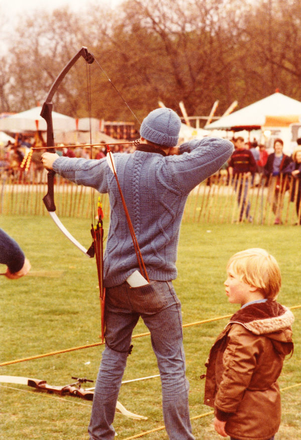 Archery Competition Leisure Activity Sport People Standing Rear View Outdoors Archery Target Archery Bows Archery Range Arrows Butts drawing the bow film photography