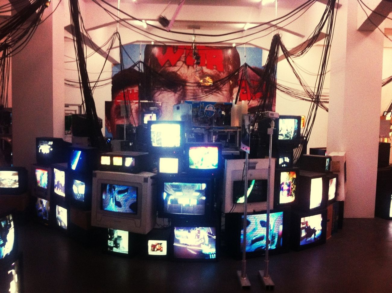 Television Art Installation